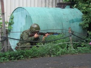 Ополченцы окружают Счастье и выходят на Харьков