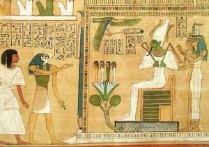 Рептилоиды в Древнем Египте