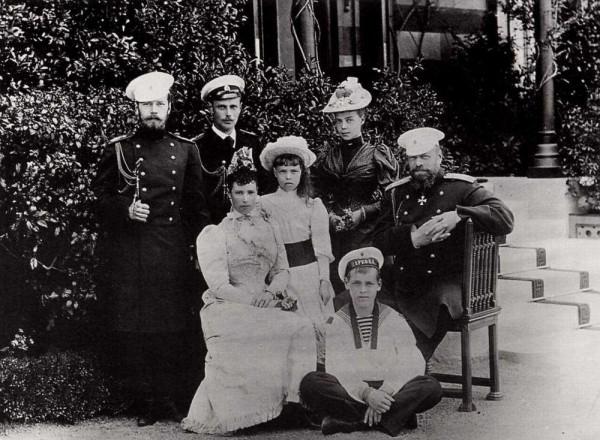 Большая русская семья