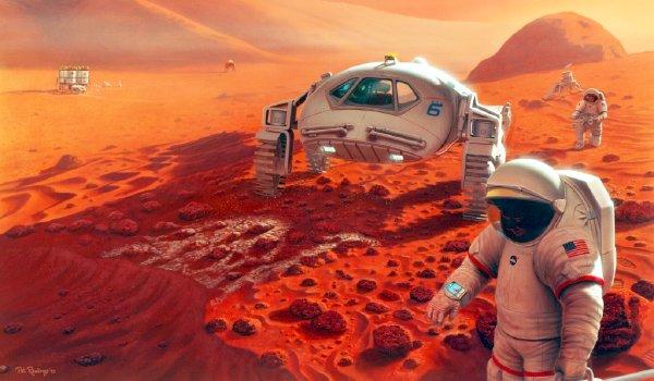 Скоро на Марсе поселятся люди