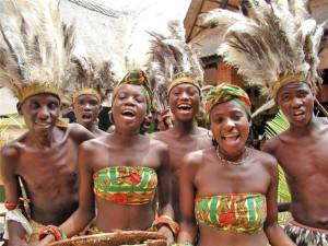 Племена чёрной расы