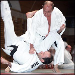 Неспортивное поведение Путина