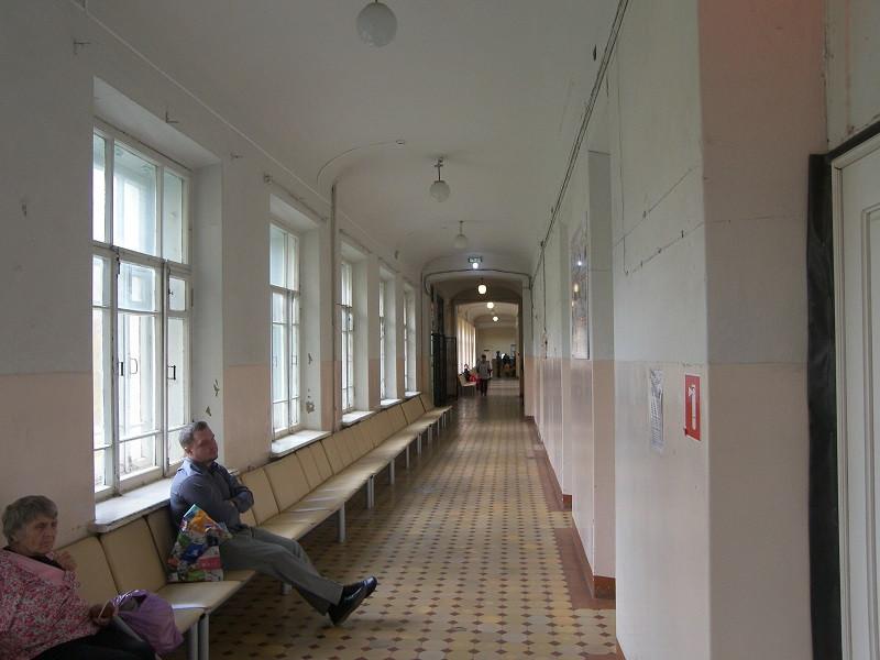 коридор 1 этаж рентген