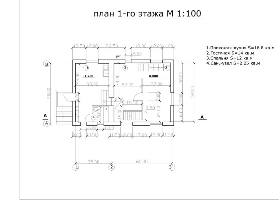 проект дома П,П,-Layout2