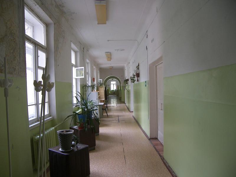коридор палаты