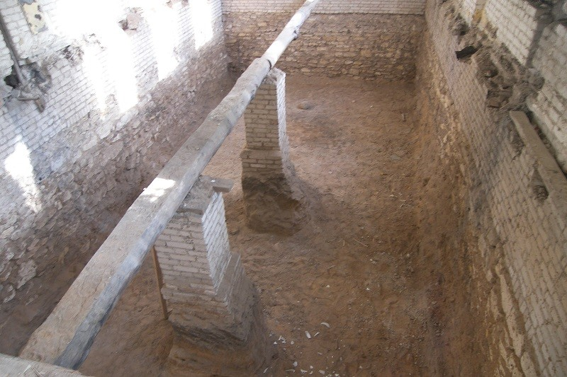 4 Отрытие части цокольного этажа
