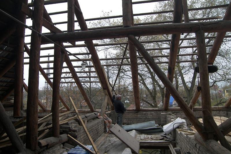 8 Замена несущих конструкций крыши
