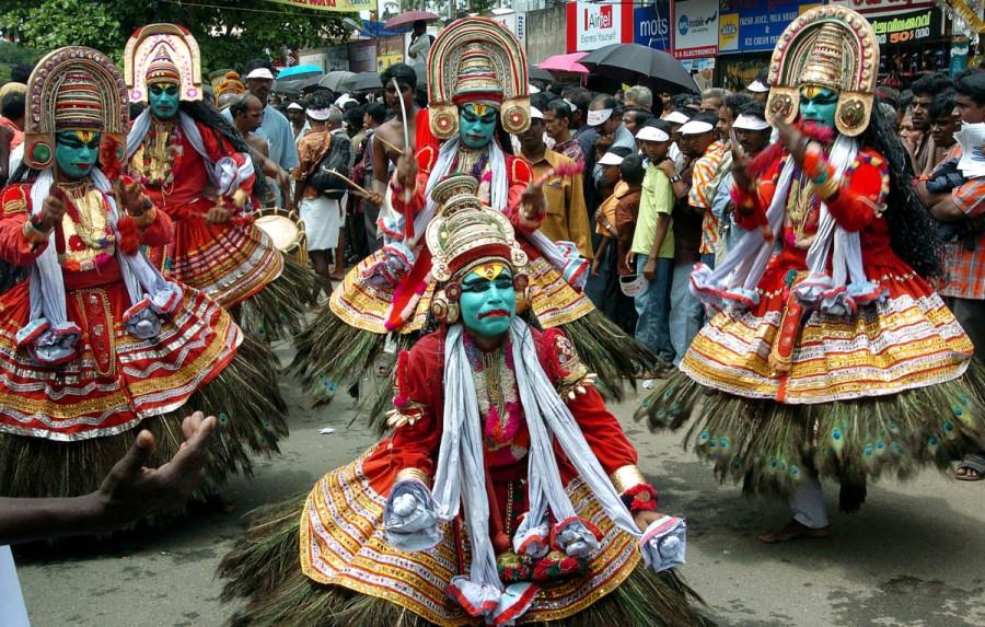South India festival tour