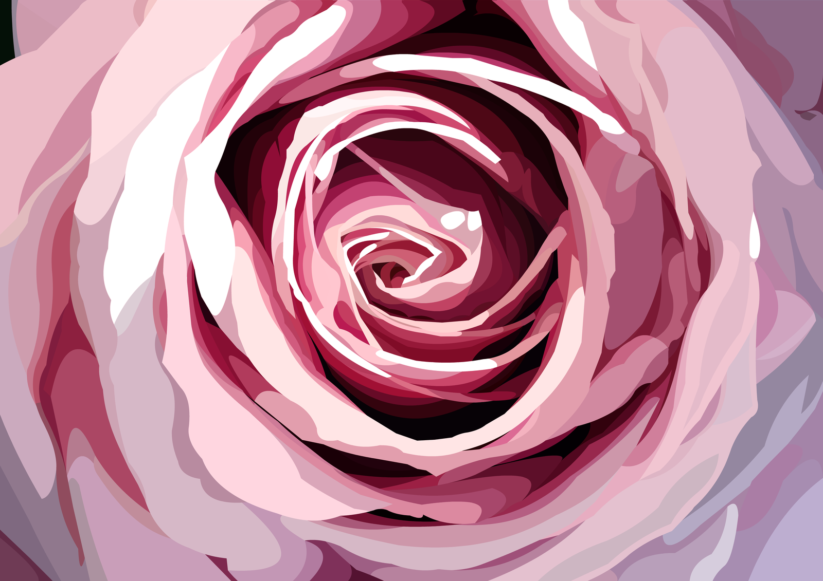pink_rose_vector_by_elviranl-d6ogdk5