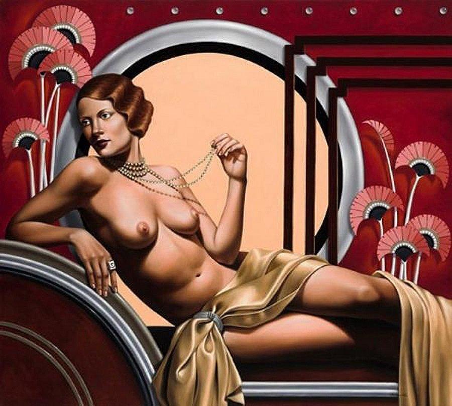 Xxx girl art erotic nuveau