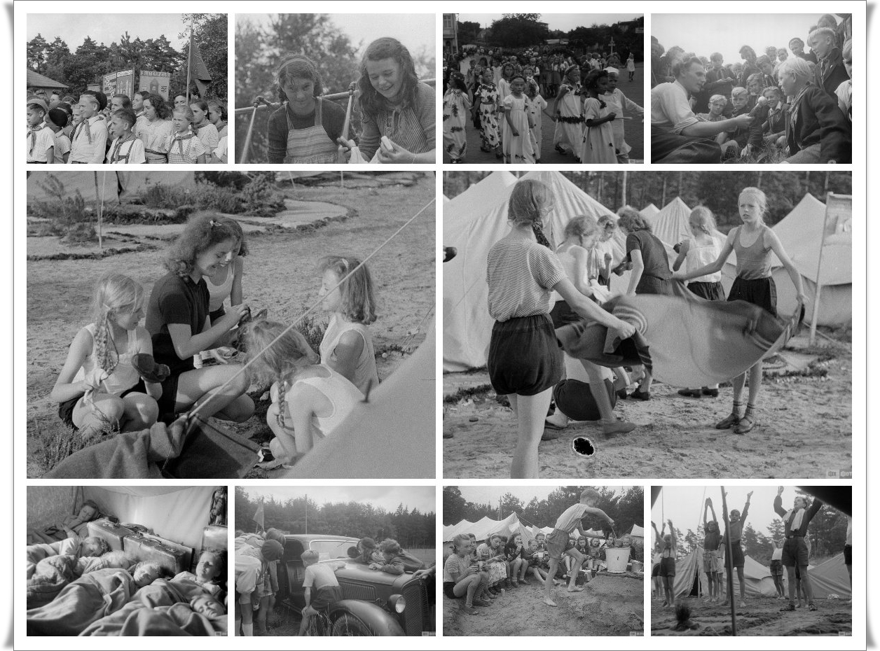 Остров Рюген - «Пионерская республика». Денацификация по-советски (134 фото)