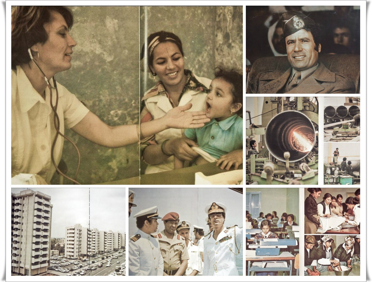 76 лет назад родился ливийский вождь. Какой была Ливия при Муаммаре Каддафи (альбом)