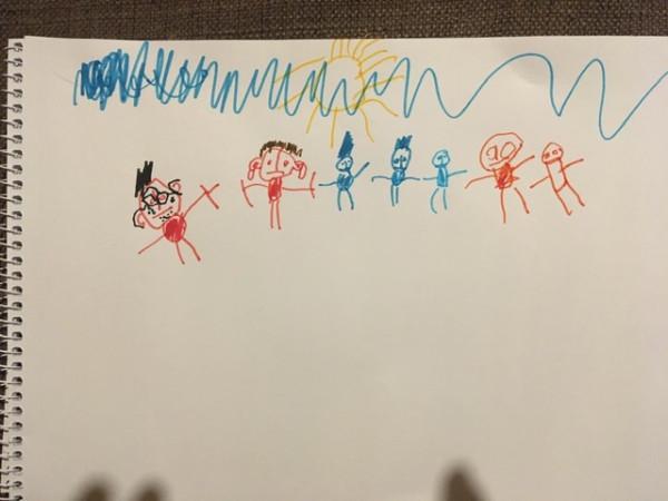 Рисунок семьи. Успокойте мой невроз)