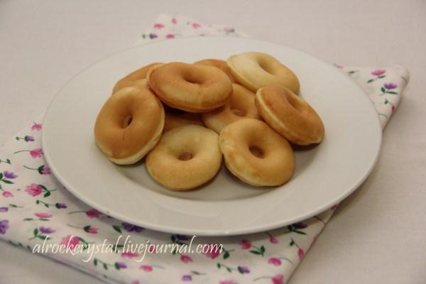 Пончики на закваске 1