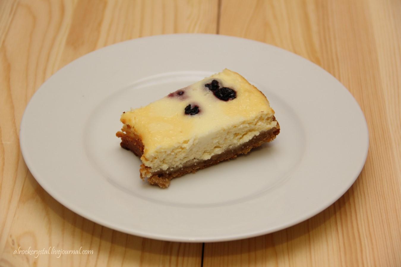 Творожный пирог с гречневой мукой