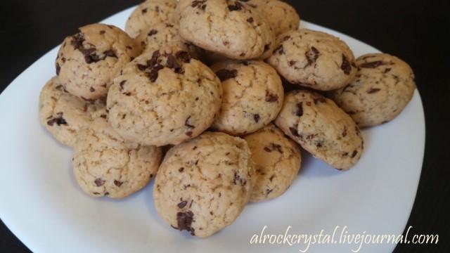 Американское печенье с шоколадной крошкой [640x480]