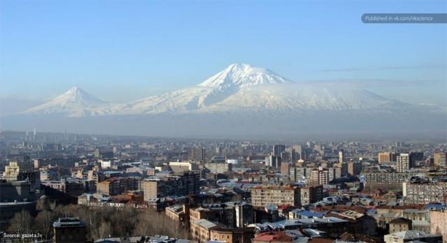 Арарат - самая высокая гора в мире