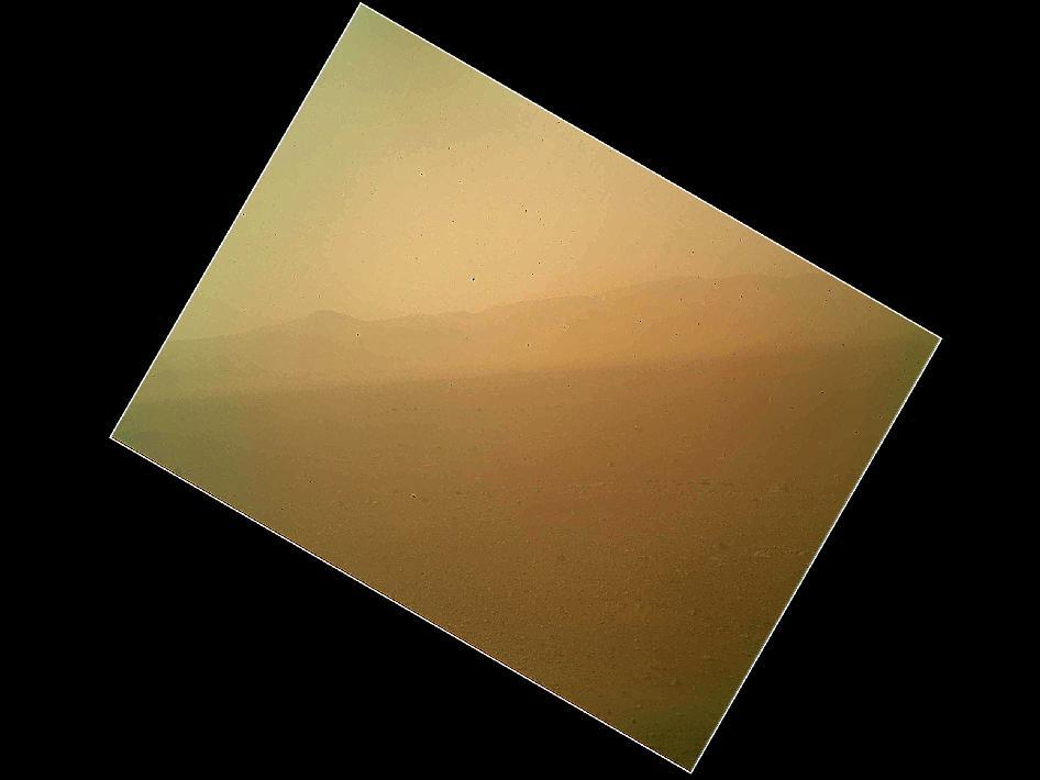 Снимок Марса, сделанный Mars Hand Lens Imager. Фото с сайта nasa.gov