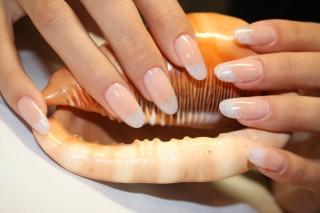 Наращивание ногтей фото под натуральные