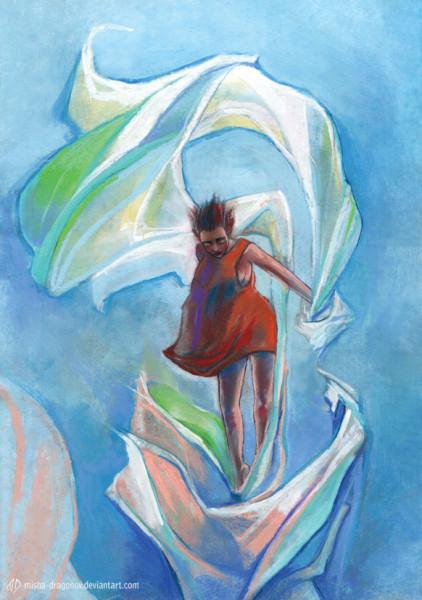 remedios_ascends_into_the_sky_by_misha_dragonov-d3lhi39