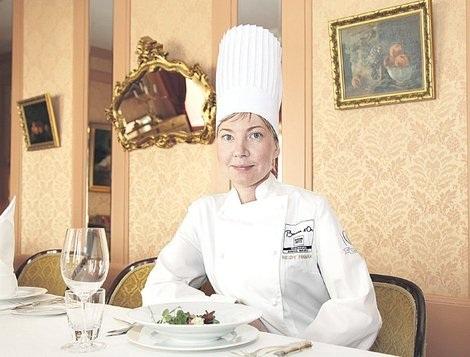 представление блюда на конкурсе поваров