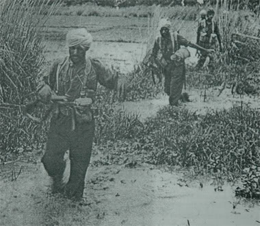 Sikh Troops in Burma 1945