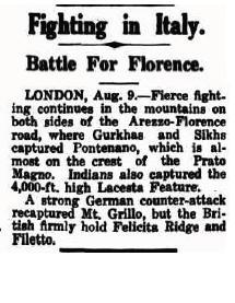 Sikhs Captured Florence