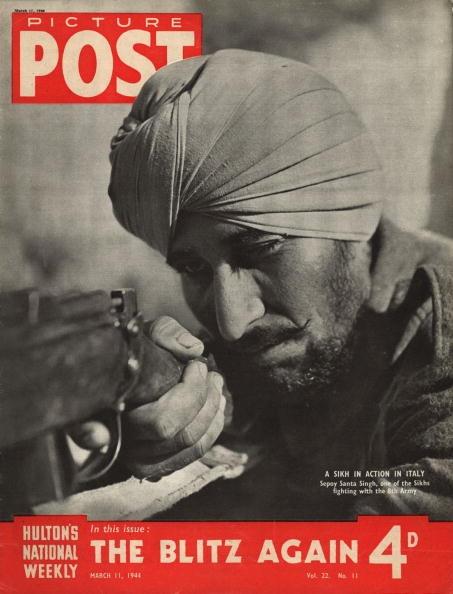 Английский журнал 1944 года