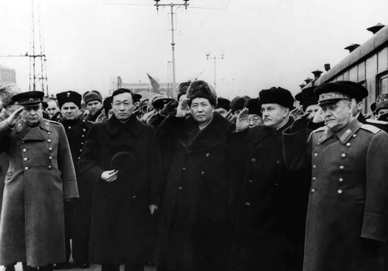 встреча Мао в Москве