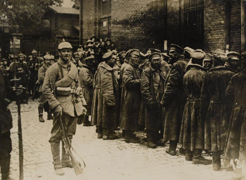 russian prisoners 1914