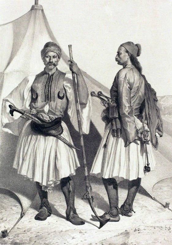 Alexandre Bida (1813–1895) Арнауты в Египте