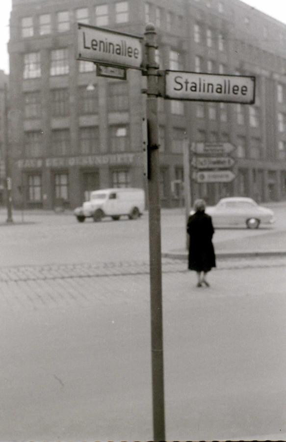 Берлин начала 50-х