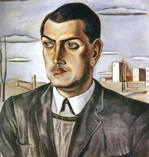 Портрет Луиса Бунюэля, нарисованный Сальвадором Дали .jpg