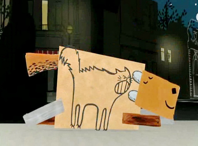 2003 - Собака, которая внутри кошка (Сири Мельхиор).jpg
