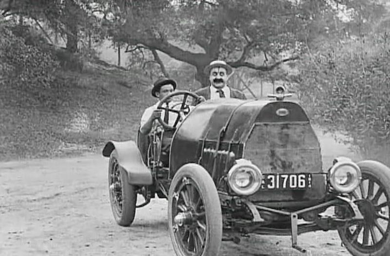 1914 - Состоявшееся знакомство (Чарльз Чаплин)