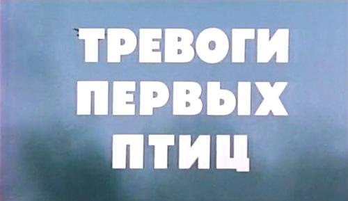 Тревоги первых птиц (Диамара Нижниковская)