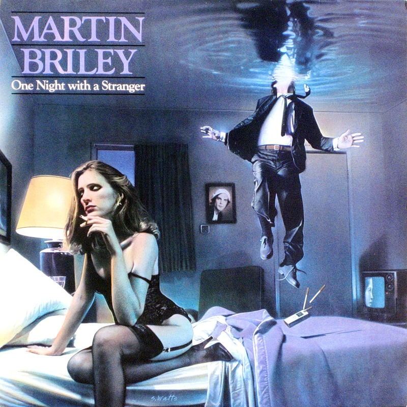 Martin Briley - One night with a stranger