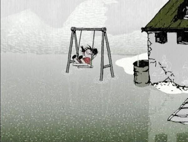 2007 - Дождь сверху вниз