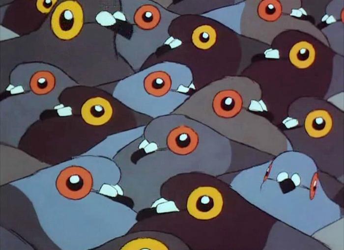 1998 - Старушка и голуби (Сильвен Шомэ).jpg