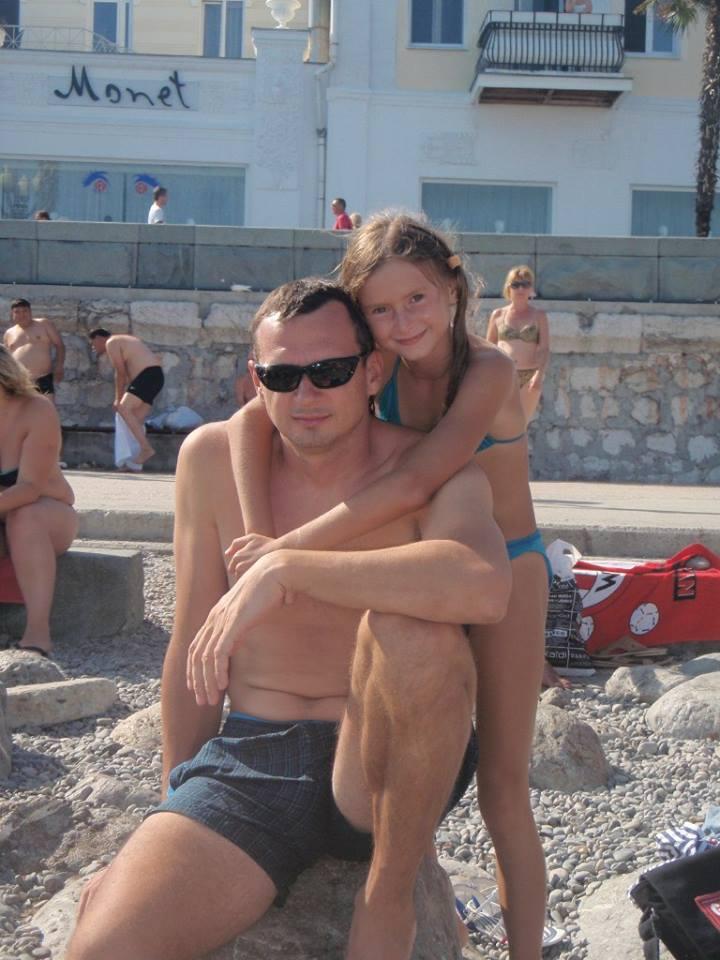 Сенцов с донькой