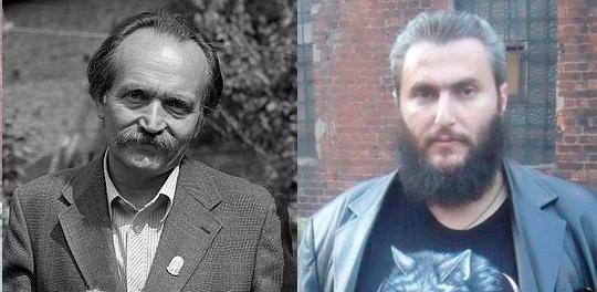 Вячеслав Черновол и Борис Стомахин