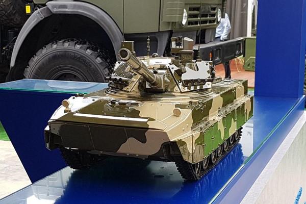 Каким станет потомок плавающего танка Спрута СД