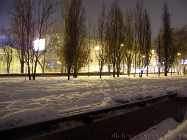 ночь Донецк Свет счастливой звезды http://altoliman.livejournal.com/