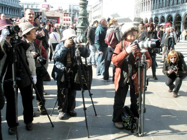 японцы в венеции