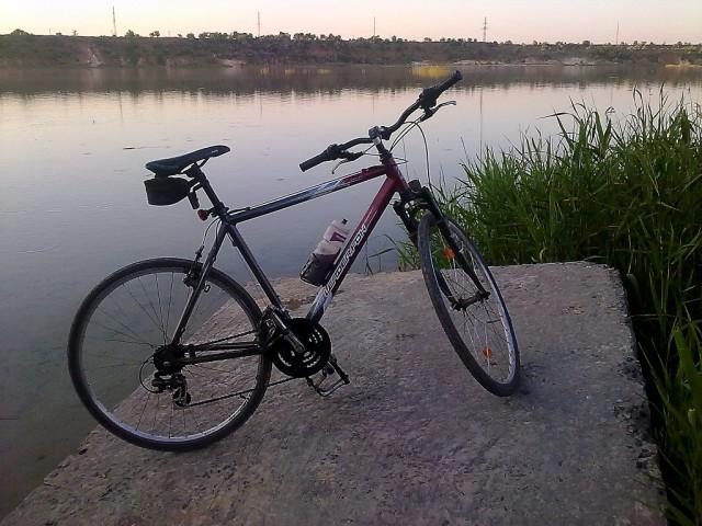 велосипед авдеевка карьер