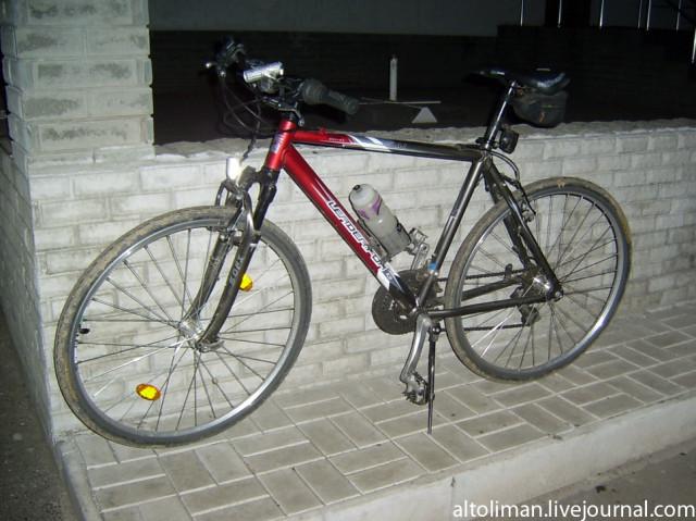 велосипед Донецк Свет счастливой звезды http://altoliman.livejournal.com/