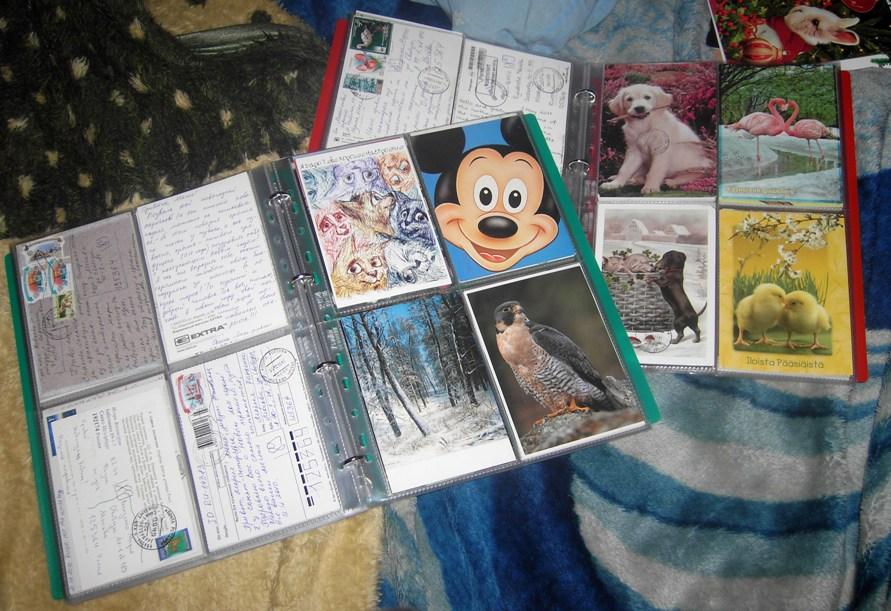 Альбомы для хранения открыток посткроссинг, картинки днем рождения
