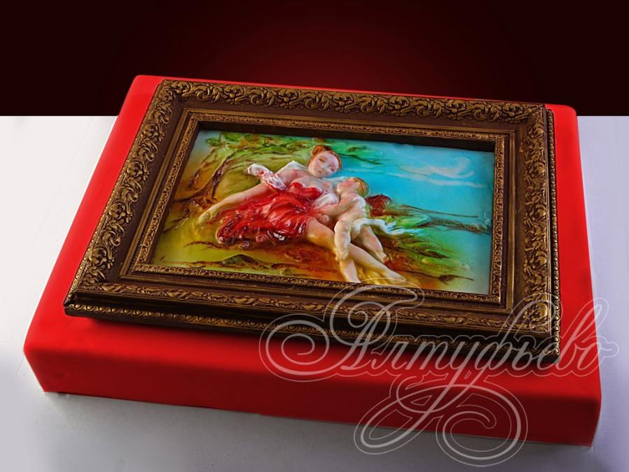 Картины торты фото