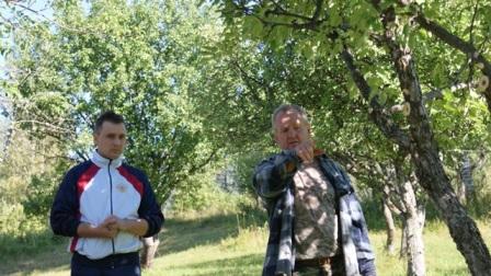 Сергей Ерофеев - куратор работ в заповедном саду