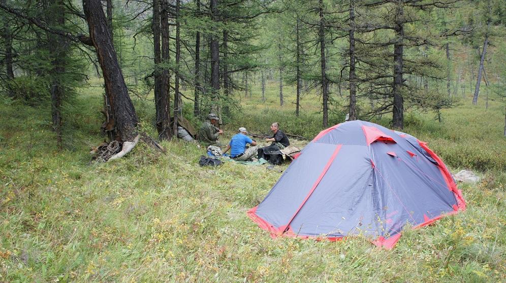 Лагерь в Токпоке